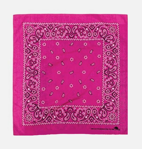 Bandana: Passion Pink