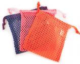 Three Nylon Mesh Drawstring Bags (PPO)
